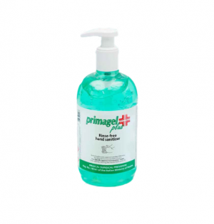 Primagel Plus Hand Sanitiser Gel