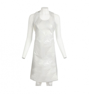 PPE Disposable Polythene Aprons White - Covid 19