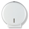 Mini Jumbo Toilet Roll Dispenser White for the commercial sector