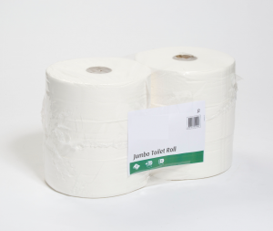 Toilet Roll - Jumbo - White - Premium 2 Ply