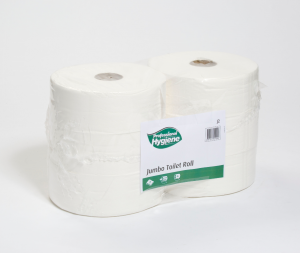 Toilet Roll - Jumbo - White - Standard 2 ply