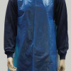 PPE Disposable blue polythene apron or bib.