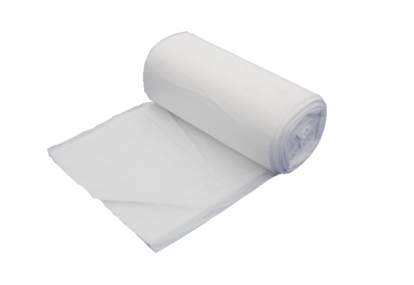 Swing Bin Liners – On Roll – White – 100g