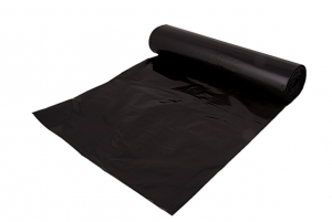 Refuse Sacks – On Roll – Black – LD – Pluto – 160g