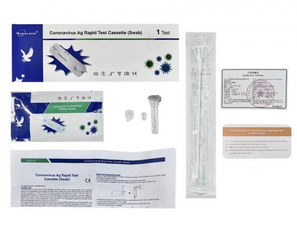 healgen covid antigen test kit